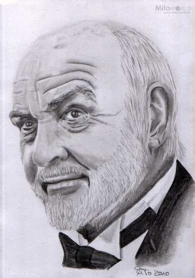 Sean Connery by Mito